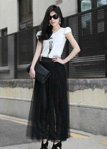 黑纱裙搭配_好看的黑纱裙怎么搭配