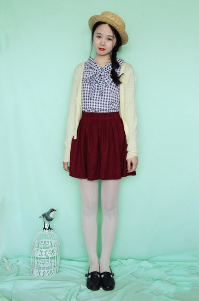 15 16岁加厚加绒冬季外套 $118.00元--秋冬服装搭配图片女图片