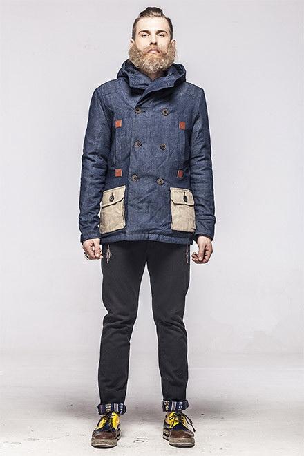 男士冬装时尚搭配图片