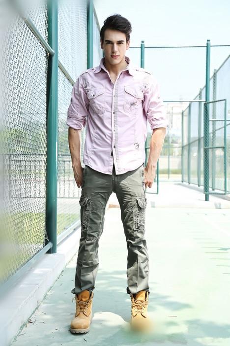 时尚春季潮男搭配图片下一个:韩国潮男服装搭配