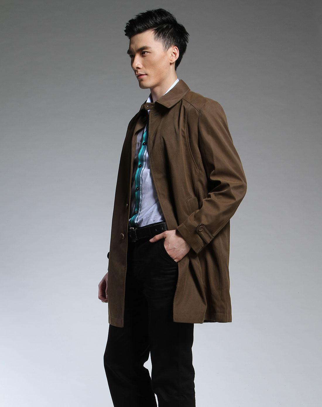 米色短款风衣搭配图片_棕色风衣搭配图片 求咖啡色大衣搭配(附图片)