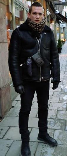 男士冬季穿衣搭配