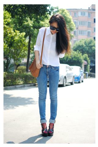 服装销售技能搭配:白衬衫搭配
