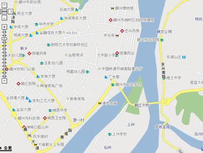 潮州地理位置地图