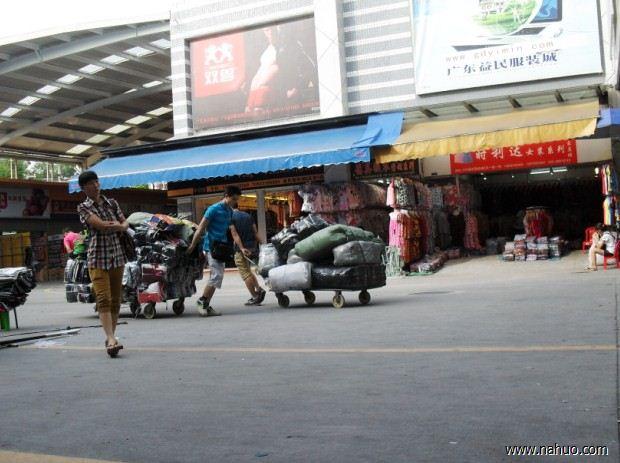 广州沙河牛仔裤批发市场